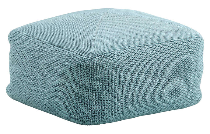 Divine Footstool by Cane-Line - Turquoise PP Fabric.