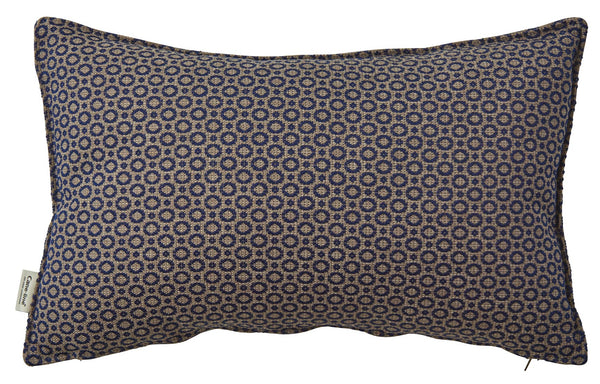 Dot Scatter Cushion by Cane-Line - Rectangle/Blue Print Cushion.