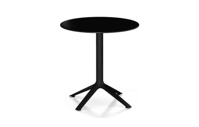 EEX Dining Table by Toou - Round, Cool Grey.