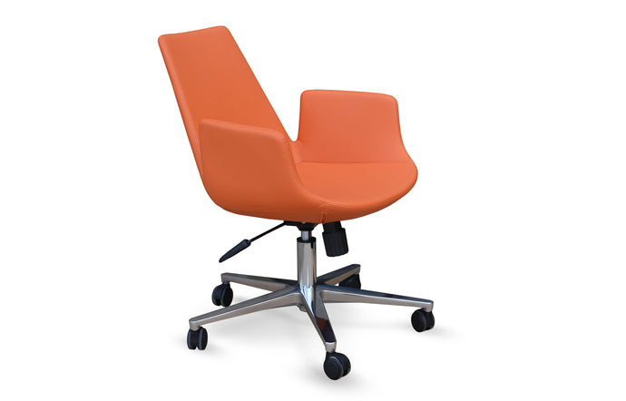 Eiffel Arm Office Chair by SohoConcept - Aluminum 26
