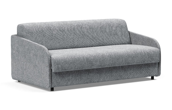Eivor Queen Dual Sofa Bed by Innovation - 565 Twist Granite (stocked).