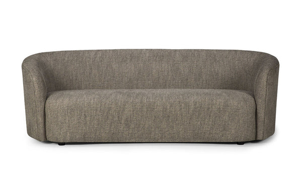 Ellipse 3 Seater Sofa by Ethnicraft - Ash Fabric.