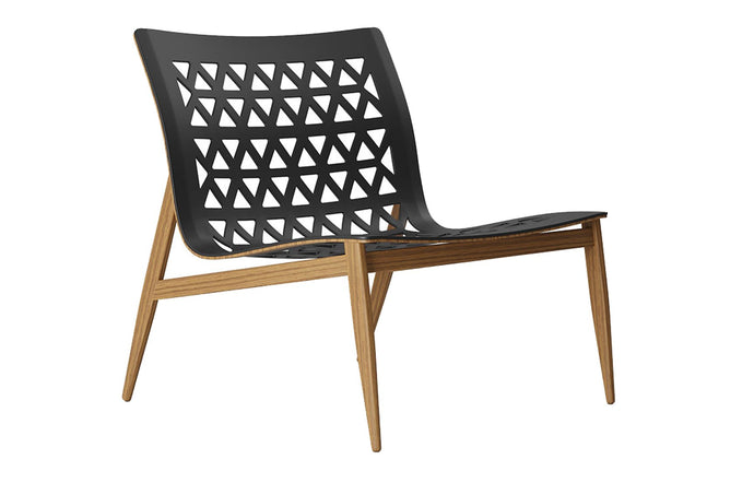 Elmstead Lounge Chair by Modloft Black.