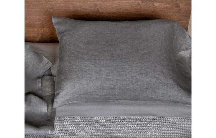 Emile Charcoal Pillow Case by Area.