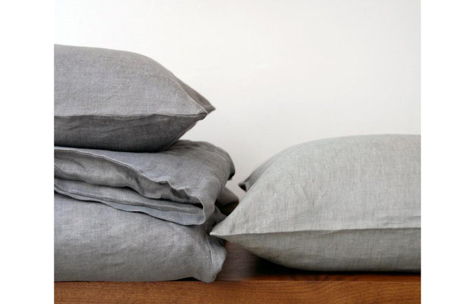 Emile Mineral Duvet Cover by Area.