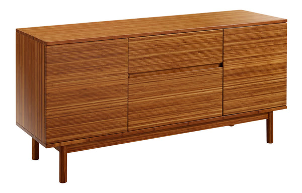 Erikka Sideboard by Greenington - Amber Solid Wood.