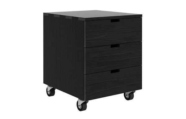 Billy Black Oak Drawer Unit by Ethnicraft.