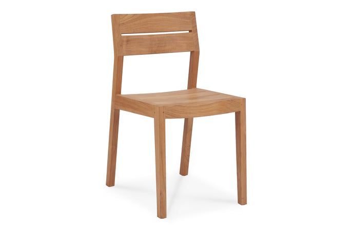 EX 1 Teak Outdoor Dining Chair by Ethnicraft.