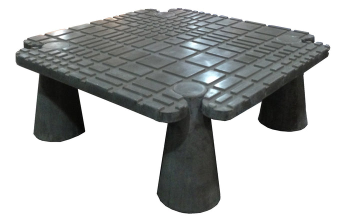 James De Wulf Fibonacci Locking Coffee Table by De Wulf - Black Concrete.