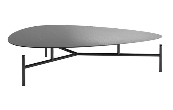 Finsbury High Coffee Table by Modloft Black - Acier