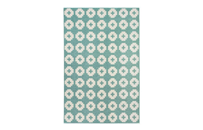 Flower Lagoon Rug by Brita.