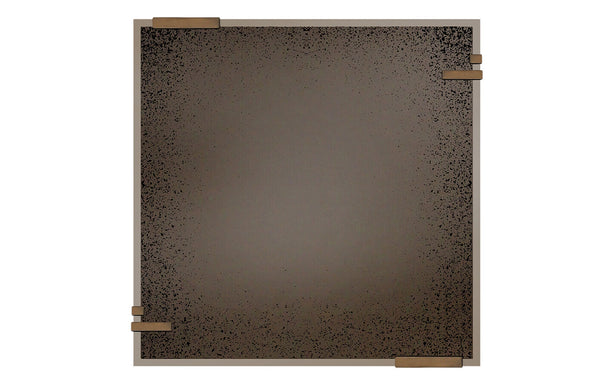 Frameless Wall Mirror by Ethnicraft - Bronze