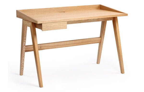 Gallery Desk by m.a.d. - Natural Ash Wood.