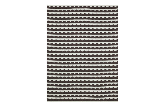 Gittan Black Rug by Brita.