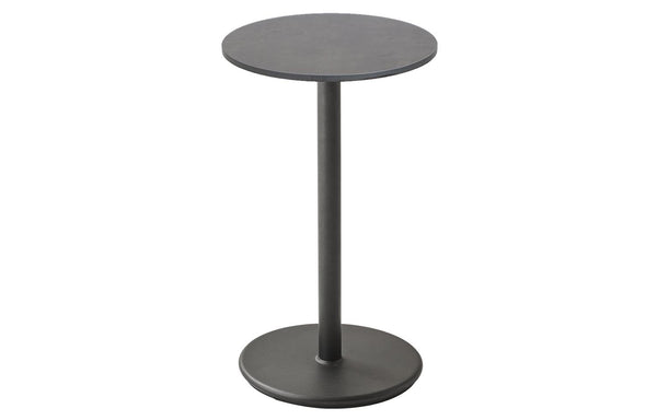 Go Cafe Table with Dark Grey HPL Top by Cane-Line - 18