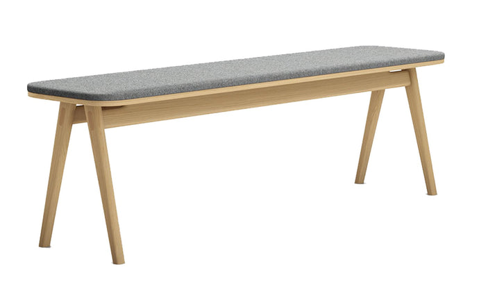 Haru Bench by Modloft - Natural Oak