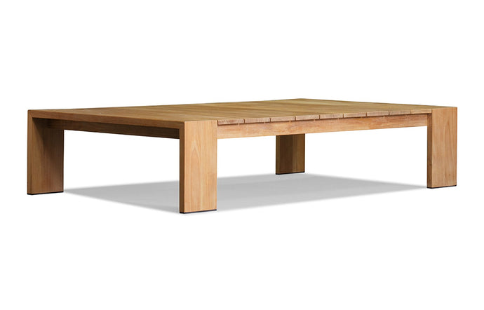 Hayman Teak Coffee Table by Harbour - Natural Teak Wood.