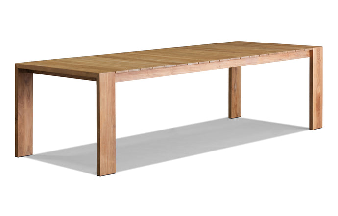 Hayman Teak Dining Table by Harbour - Natural Teak Wood.