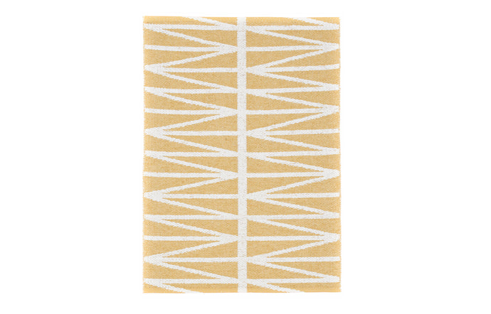 Helmi Light Yellow Rug by Brita.