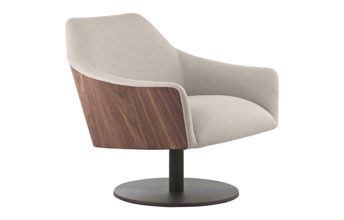 Henry Lounge Chair by Modloft Black.