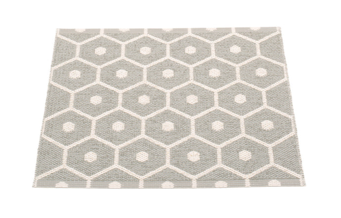 Honey Warm Grey & Vanilla Runner Rug by Pappelina - 28