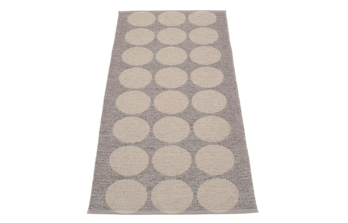 Hugo Metallic Mud & Mud Runner Rug by Pappelina - 28