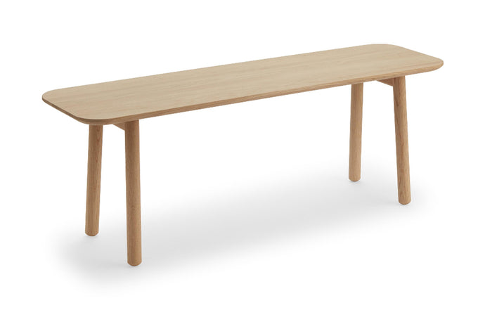 Hven Bench by Skagerak - Natural Oak Wood.