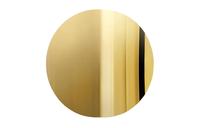 Imago Mirror Object by Mater - Polished Brass.