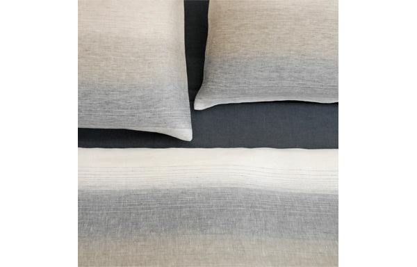 INES White Linen Pillowcase by Area
