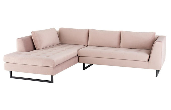 Janis Sectional Sofa by Nuevo.