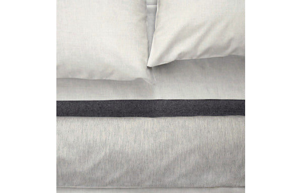 Jewel Grey Cotton Sateen Duvet Cover by Area