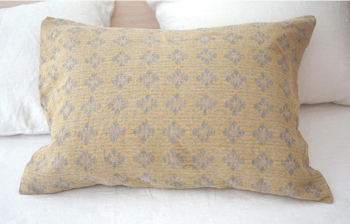 Jules Amber Linen Pillow Cases (Pair) by Area