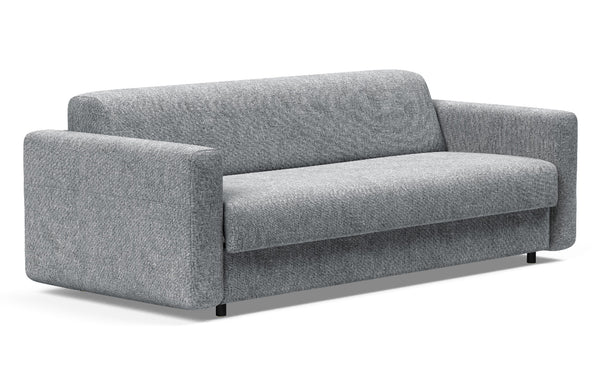 Killian Dual Queen Sofa Bed by Innovation - 565 Twist Granite (stocked).