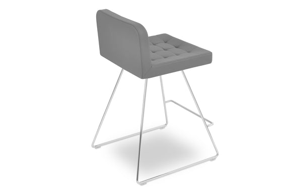 Lara Wire Bar Stool by SohoConcept - Grey PPM.