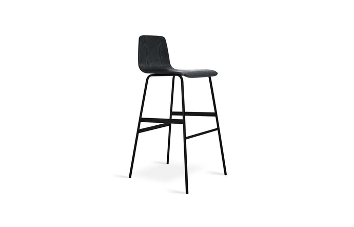 Lecture Bar Stool by Gus Modern - Black Ash.