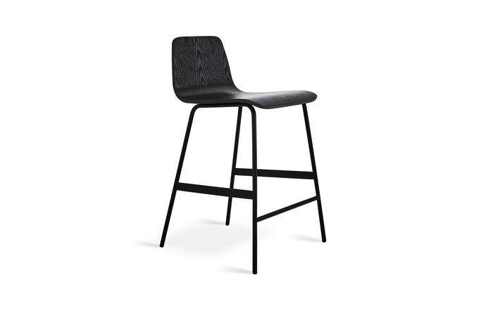 Lecture Stool by Gus Modern - Black Ash.