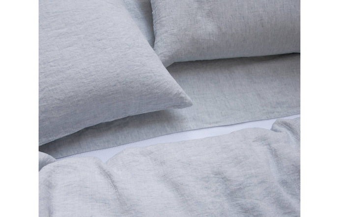 Louie Blue Pillowcases by Area.