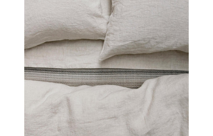 Louie Natural Fitted Sheet by Area.