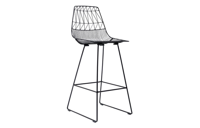 Lucy Bar Stool by Bend - Black