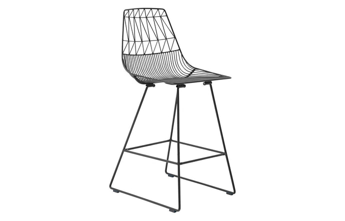 Lucy Counter Stool by Bend - Black.