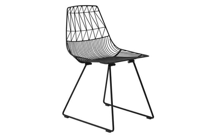 Lucy Side Dining Chair by Bend - Black