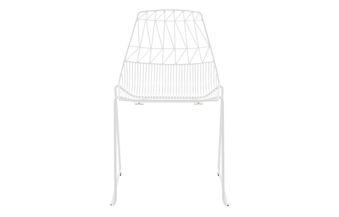 Lucy Stacking Chair by Bend - White