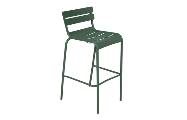 Luxembourg High Chair by Fermob - Cedar Green (matte textured)