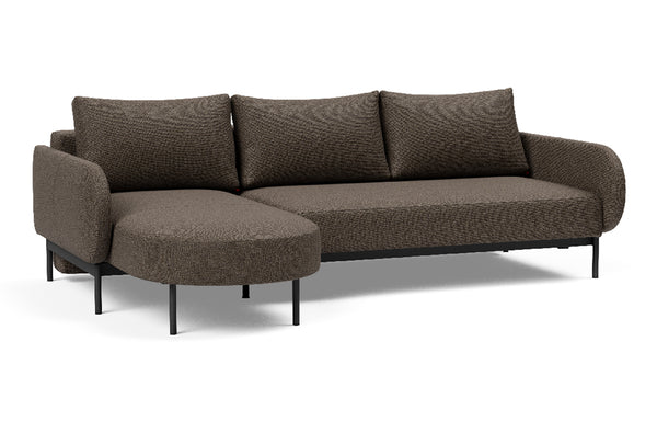 Magala Left/Right Corner Sofa Bed by Innovation - 578 Kenya Taupe (stocked).