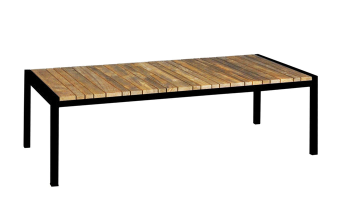Zudu Coffee Table by Mamagreen - Ink Black Aluminum.