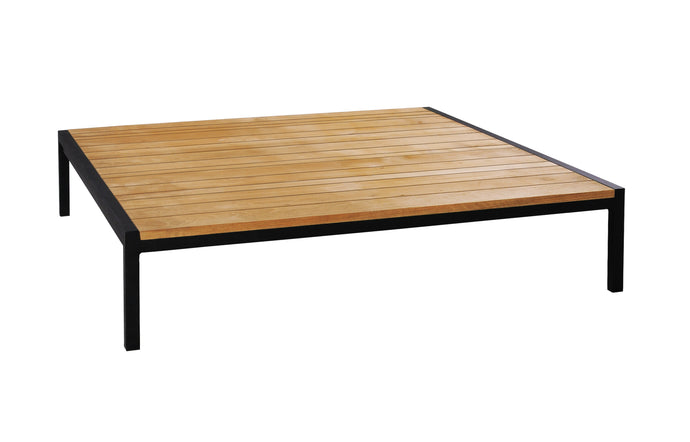 Zudu Low Table by Mamagreen - Ink Black Aluminum.