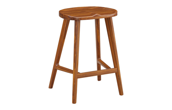 Max Counter Height Stool by Greenington - Amber Solid Wood.