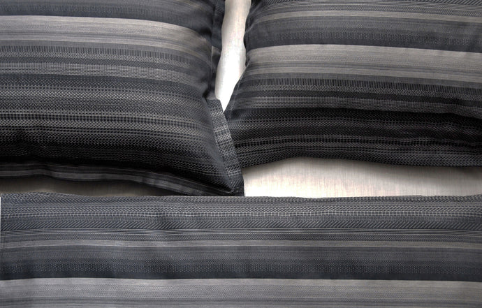 May Black Duvet Cover by Area