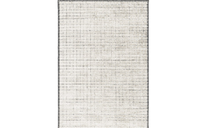 Mesh 239.001.100 Hand Woven Double Backing Rug by Ligne Pure.