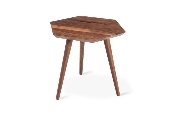 Metric End Table by Gus Modern - Walnut Natural.